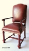 Leather Upholstered Arm Chair -51005