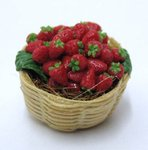 7033-Basket with strawberries