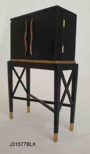 Mueble bar Art Deco-J31077BLK