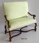 William and Mary Settee-0832