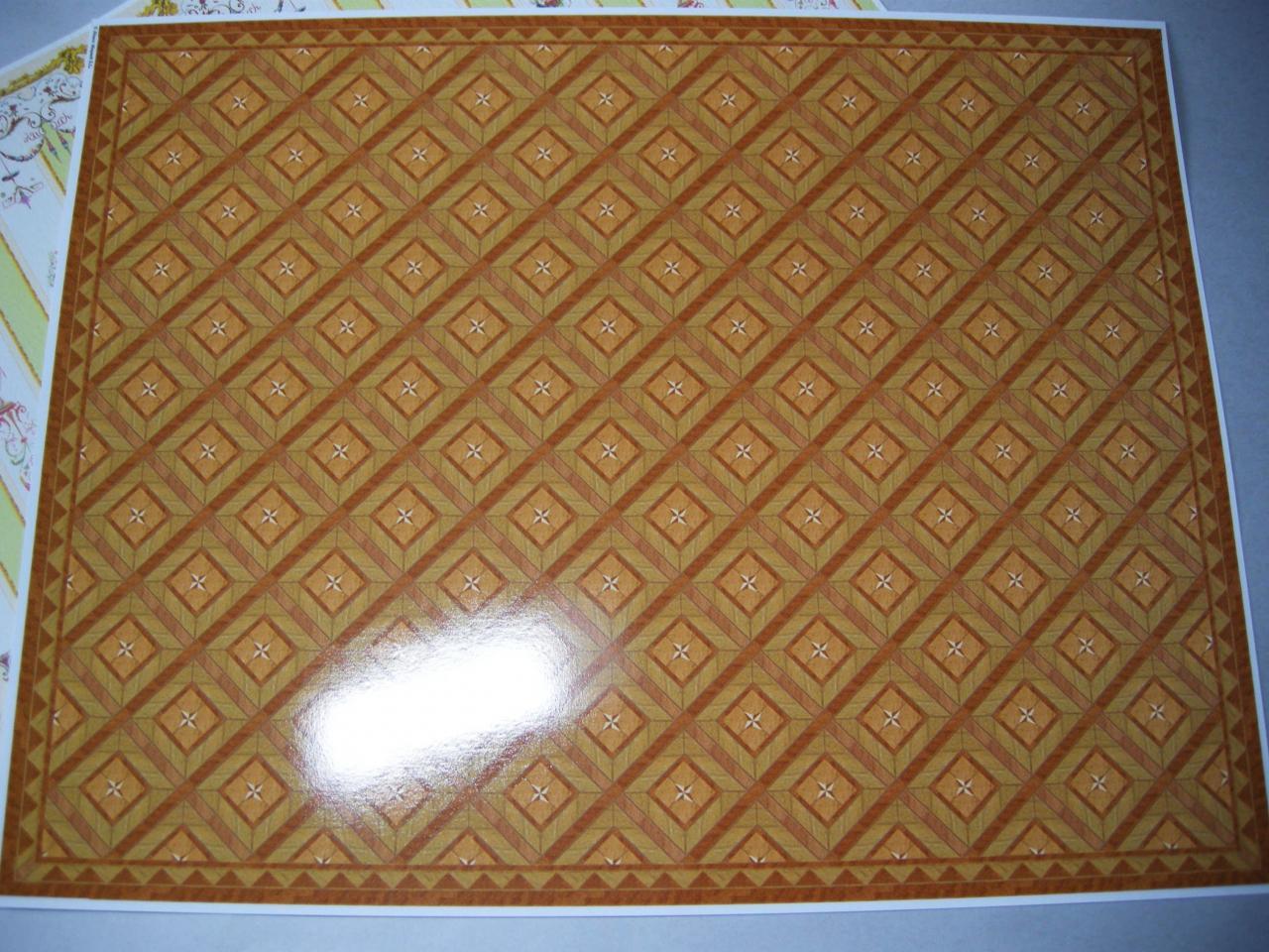 Set de papel suelo 34482a mundominiaturas - Papel para suelo ...