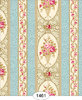 1461-Wallpaper - Parisian Floral Stripe
