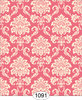 1091Wallpaper - Cottage Damask - Pink