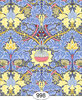 998-Wallpaper - Victorian Morris - Blue