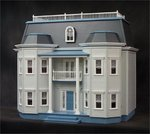 79600-Foxhall Manor dollhouse kit